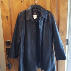 Worthington genuine  lambskin Leather jacket